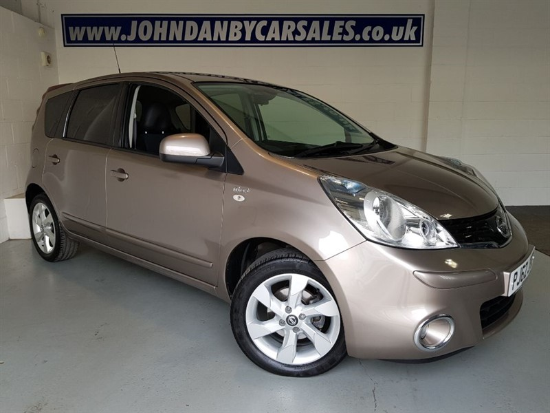 used Nissan Note 1.6 N-TEC Plus AUTOMATIC VERY LOW MILEAGE in in-lincolnshire