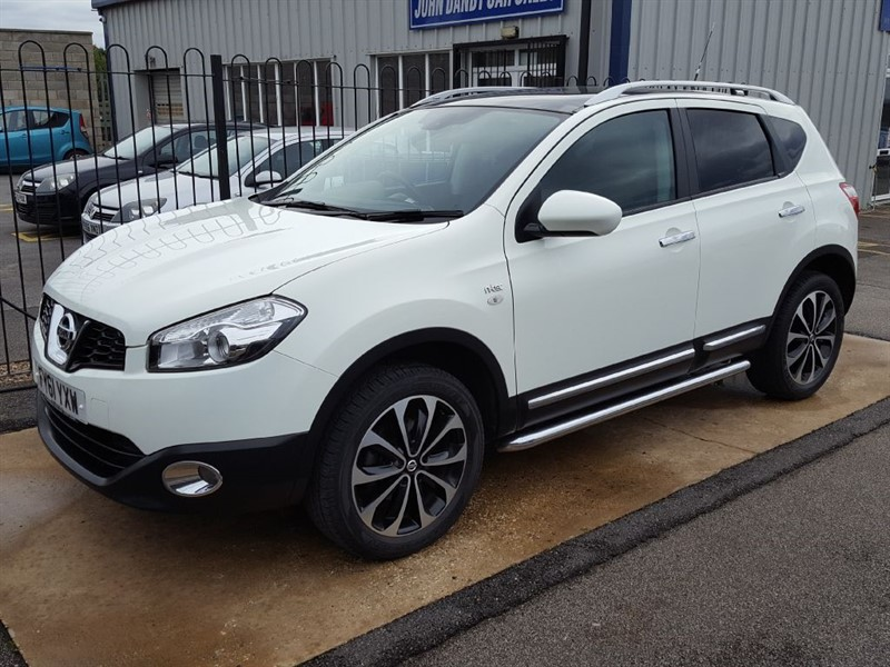 used Nissan Qashqai 2.0 N-TEC 5 Door AUTOMATIC JUST ARRIVED in in-lincolnshire