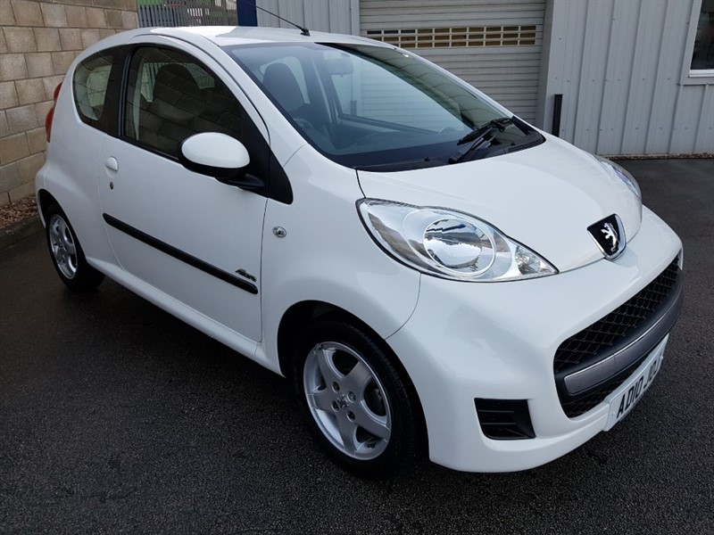 used Peugeot 107 1.0 Allure A/c 3 Door VERY LOW MILEAGE! in in-lincolnshire