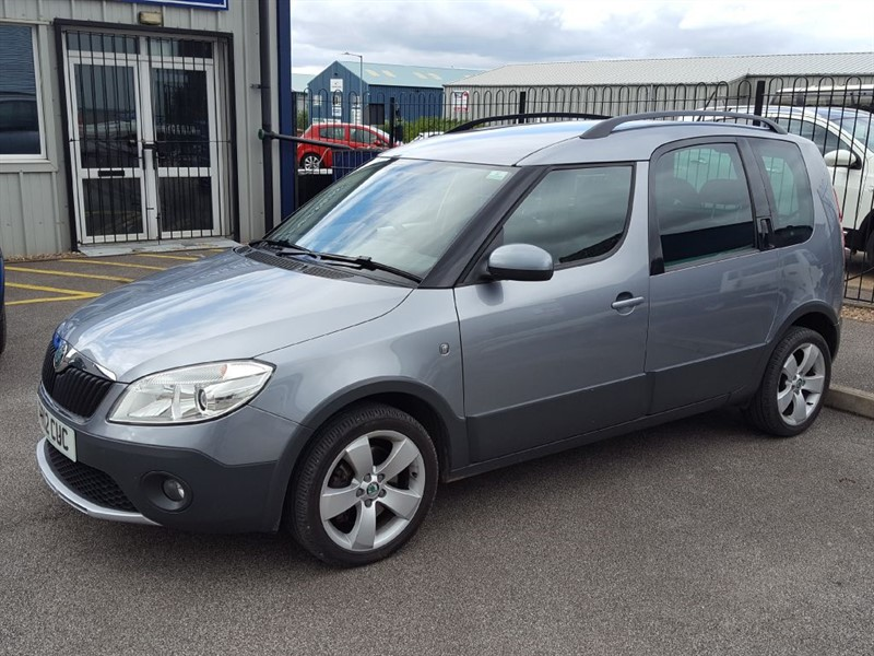 used Skoda Roomster Scout 1.6 TDI 5 Door LOW MILEAGE in in-lincolnshire