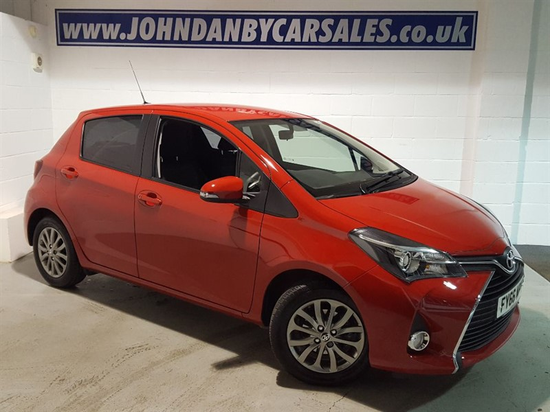 used Toyota Yaris 1.3 VVT-I ICON CVT AUTOMATIC ONLY 1455 MILES!  in in-lincolnshire