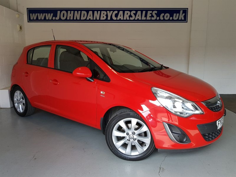 used Vauxhall Corsa 1.2 ACTIVE 5 Door LOW MILEAGE in in-lincolnshire
