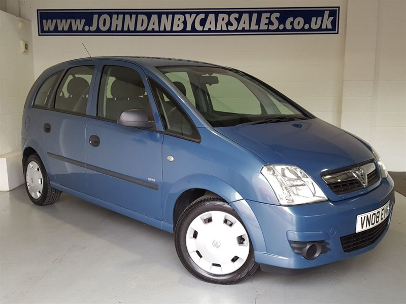 used Vauxhall Meriva 1.4 16v Life A/c 5 Door in in-lincolnshire