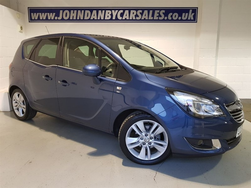 used Vauxhall Meriva 1.4 120ps SE AUTOMATIC ONLY 183 MILES! in in-lincolnshire