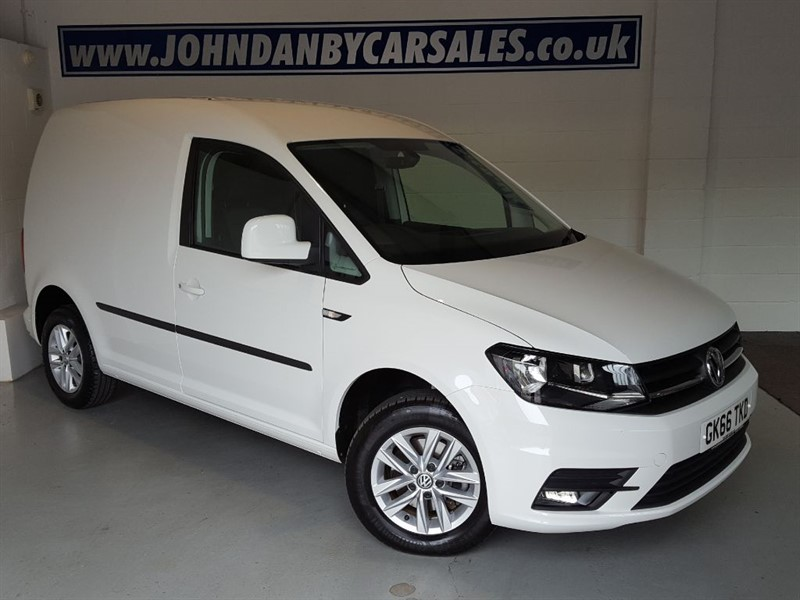 used VW Caddy Van 2.0 TDI (102ps) C20 + Highline GREAT SPEC in in-lincolnshire