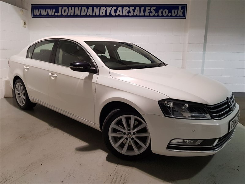 used VW Passat 1.6 TDi Bluemotion Executive 4 Door in in-lincolnshire