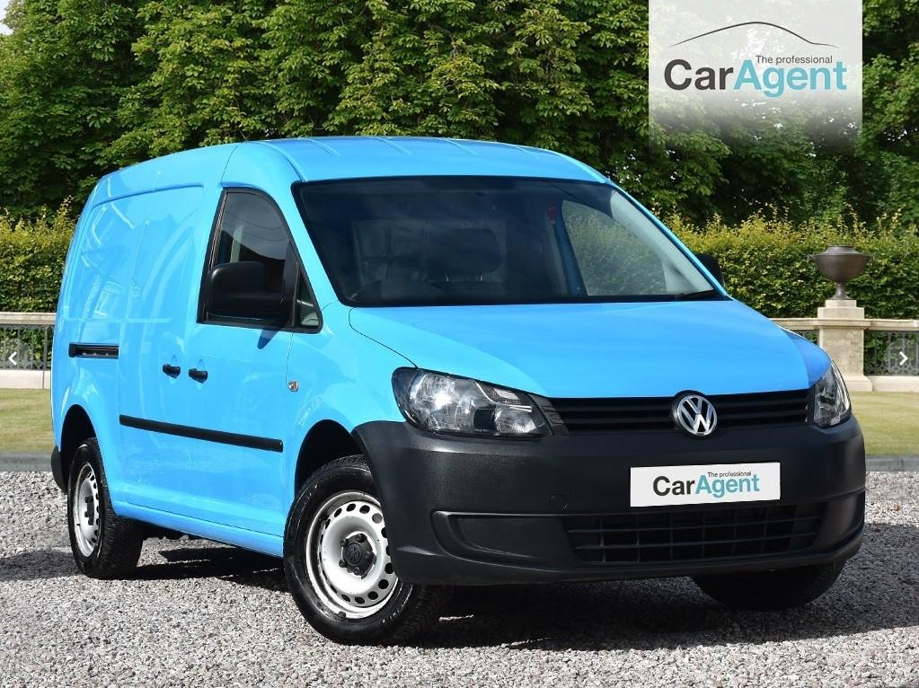 Used Blue Vw Caddy Maxi For Sale Devon