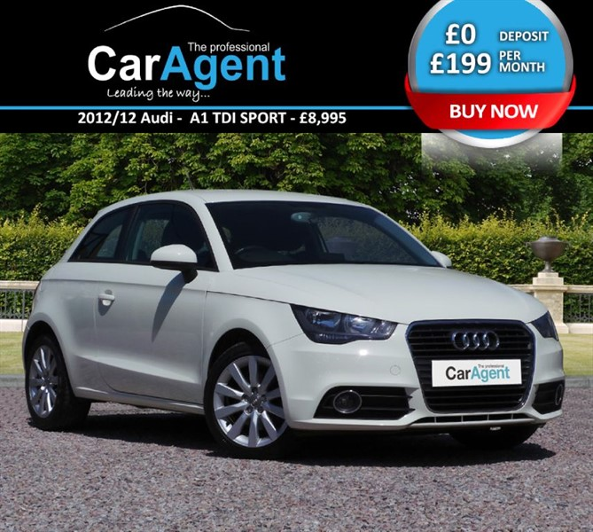 used Audi A1 TDI SPORT in devon