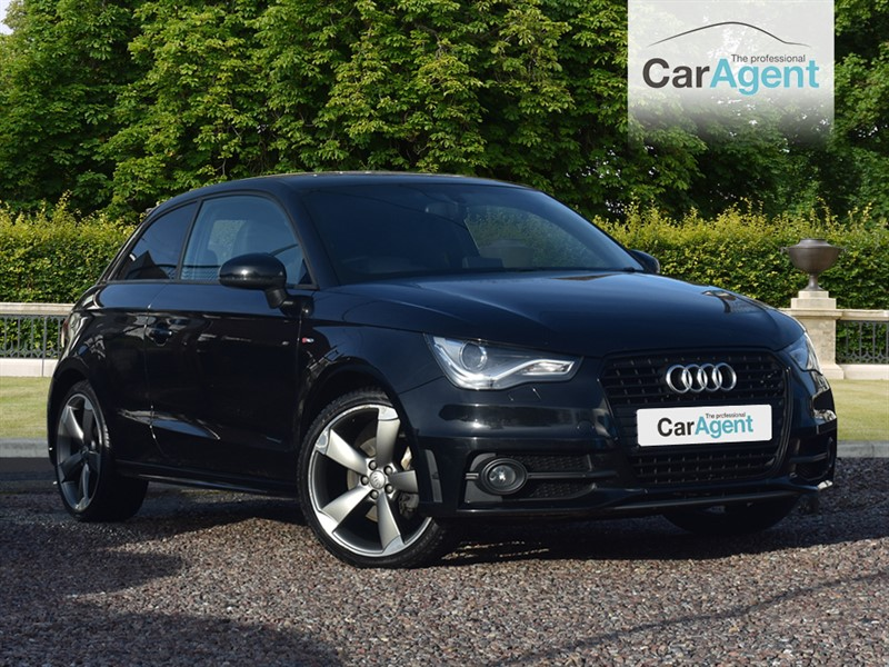 used Audi A1 TDI S LINE BLACK EDITION in devon