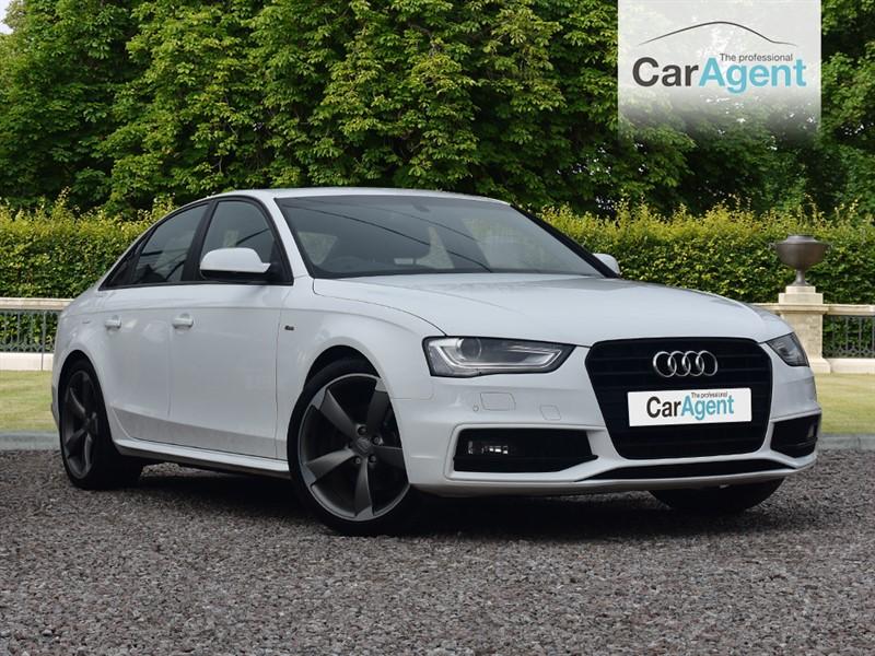used Audi A4 TDI S LINE BLACK EDITION in devon