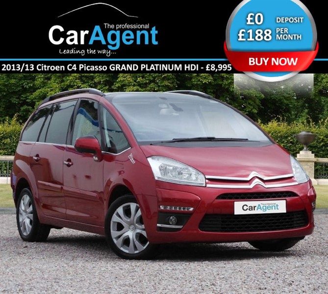 used Citroen C4 Picasso GRAND PLATINUM HDI in devon