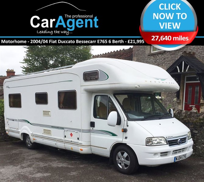used Fiat Ducato E765 6 BERTH - low miles in devon