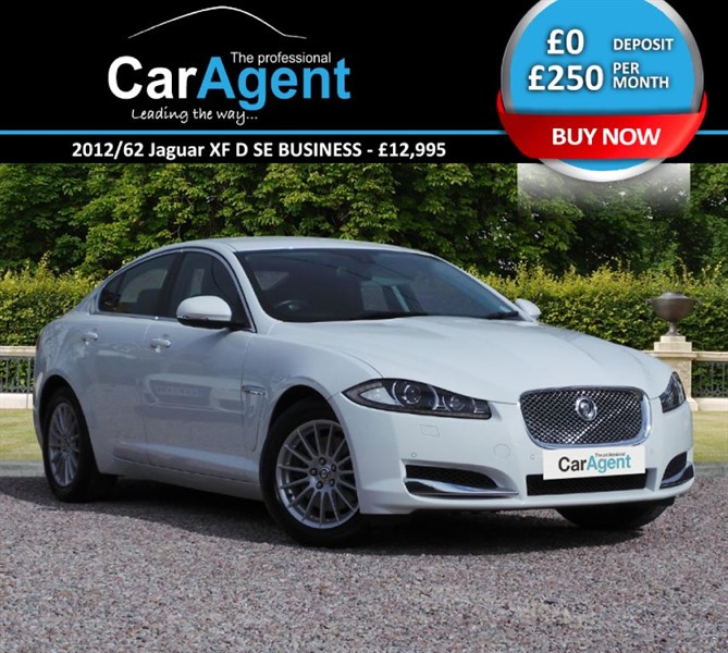 used Jaguar XF D SE BUSINESS in devon
