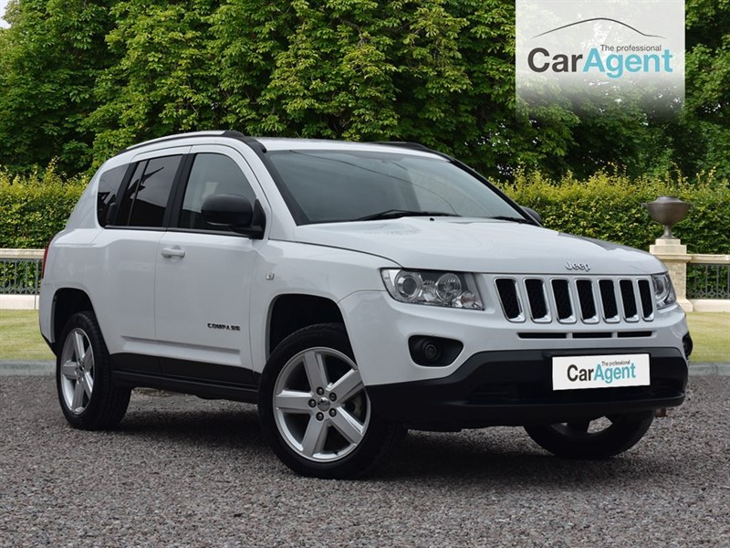 used Jeep Compass CRD LIMITED 4WD in devon