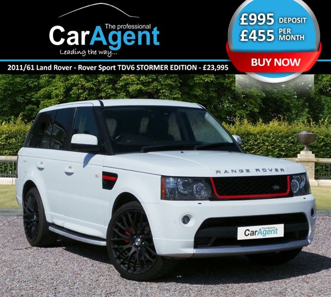 used Land Rover Range Rover Sport TDV6 STORMER EDITION in devon