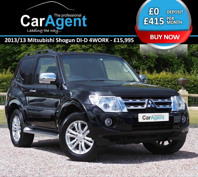 used Mitsubishi Shogun DI-D 4WORK WARRIOR in devon