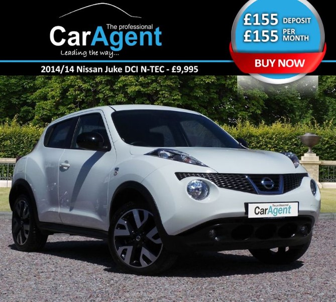 used Nissan Juke DCI N-TEC in devon