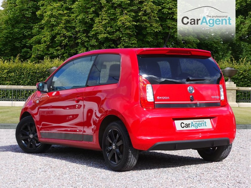 used red skoda citigo for sale devon. Black Bedroom Furniture Sets. Home Design Ideas