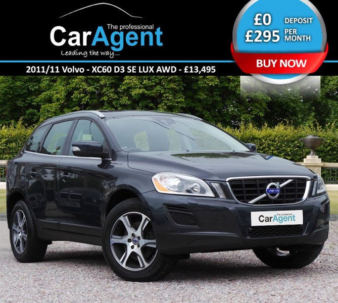 used Volvo XC60 D3 SE LUX AWD in devon