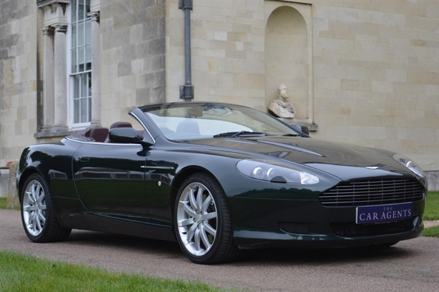 used Aston Martin DB9 V12 -FREE NATIONWIDE DELIVERY in hitchin-hertfordshire