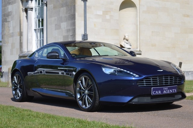 used Aston Martin DB9 6.0 V12 Coupe in hitchin-hertfordshire