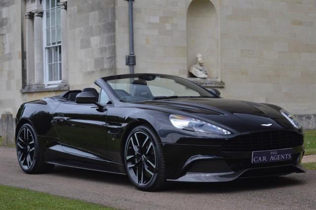 used Aston Martin Vanquish V12 Carbon Edition in hitchin-hertfordshire