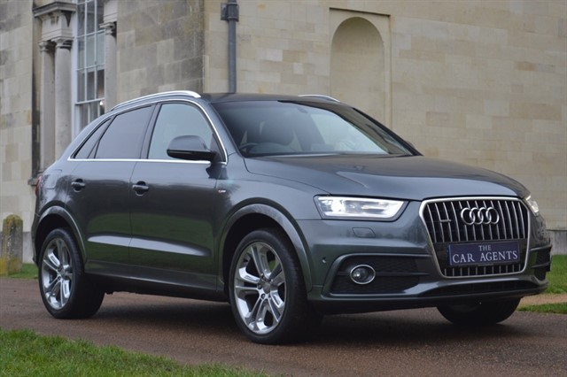 used Audi Q3 TDI QUATTRO S LINE PLUS -FREE NATIONWIDE DELIVERY in hitchin-hertfordshire