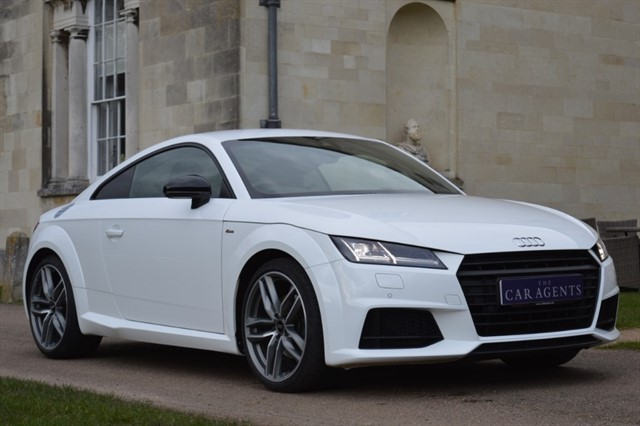 used Audi TT TFSI S LINE BLACK EDITION in hitchin-hertfordshire