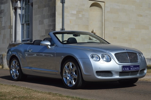 used Bentley Continental GTC Mulliner Driving Pack in hitchin-hertfordshire