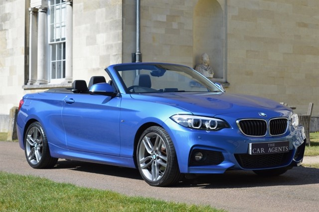 used BMW 218d M SPORT in hitchin-hertfordshire