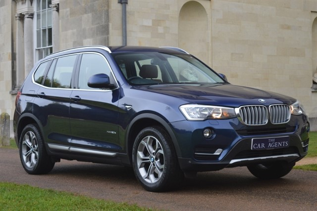 used BMW X3 XDRIVE20D XLINE in hitchin-hertfordshire