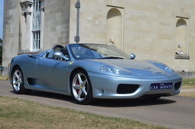 used Ferrari 360 Spider in hitchin-hertfordshire
