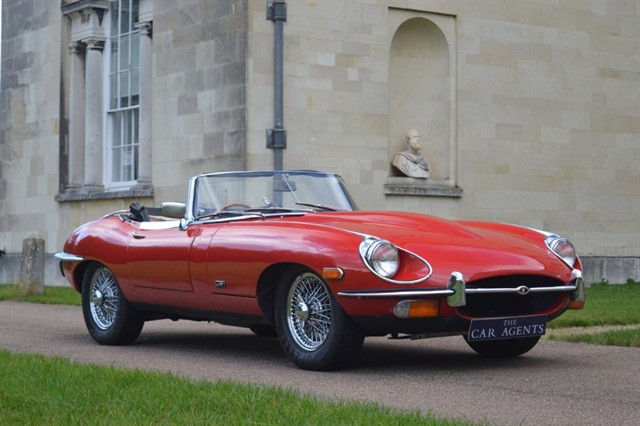 used Jaguar E-Type 4.2 Roadster - CLICK & COLLECT or HOME DELIVERY in hitchin-hertfordshire