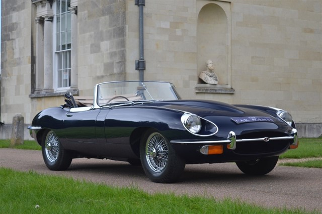 used Jaguar E-Type Series 2 4.2 in hitchin-hertfordshire