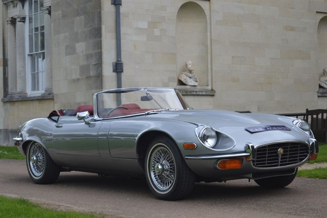 used Jaguar E-Type Bought by Jon of Tewksbury in hitchin-hertfordshire
