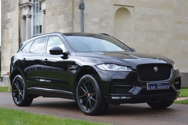 used Jaguar F-Pace R-SPORT AWD Black Edition in hitchin-hertfordshire