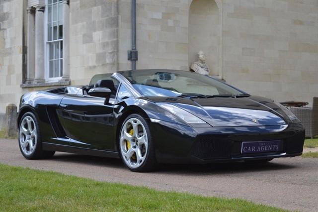 used Lamborghini Gallardo Spyder in hitchin-hertfordshire