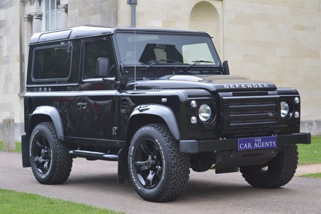 used Land Rover Defender 90 TD XS TWISTED in hitchin-hertfordshire