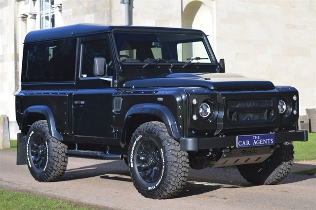 used Land Rover Defender 90 Kahn Wide Track in hitchin-hertfordshire