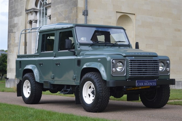 used Land Rover Defender 110 Pickup Heritage Edition in hitchin-hertfordshire