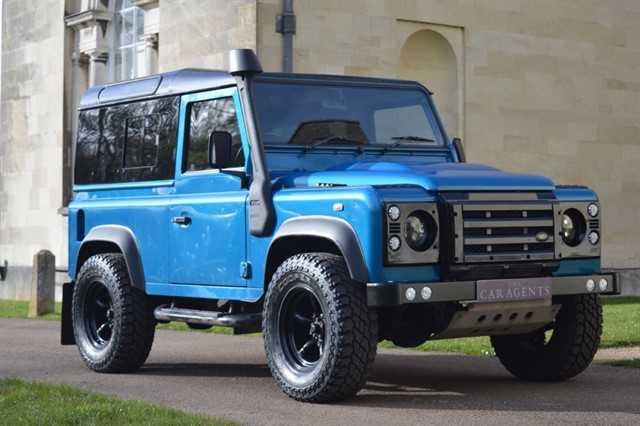 used Land Rover Defender 90 COUNTY -FREE NATIONWIDE DELIVERY in hitchin-hertfordshire