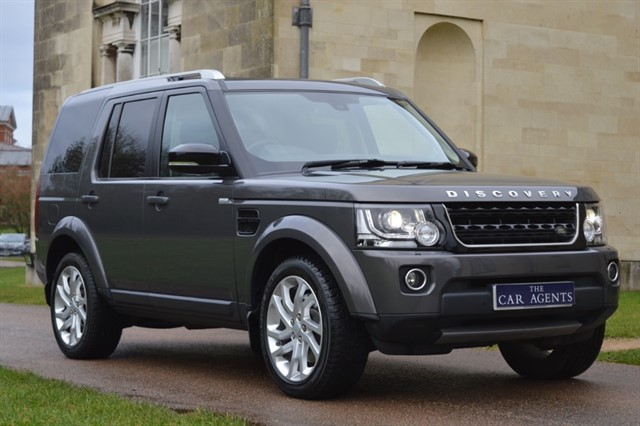 used Land Rover Discovery Collected by James of Hitchin in hitchin-hertfordshire