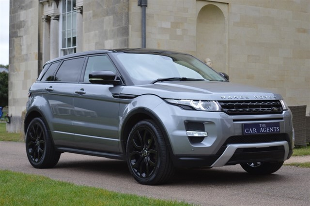 used Land Rover Range Rover Evoque SD4 DYNAMIC in hitchin-hertfordshire