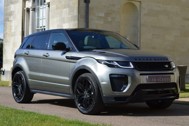used Land Rover Range Rover Evoque TD4 HSE DYNAMIC LUX in hitchin-hertfordshire