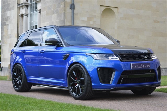 used Land Rover Range Rover Sport SVR 5.0 V8 575BHP in hitchin-hertfordshire