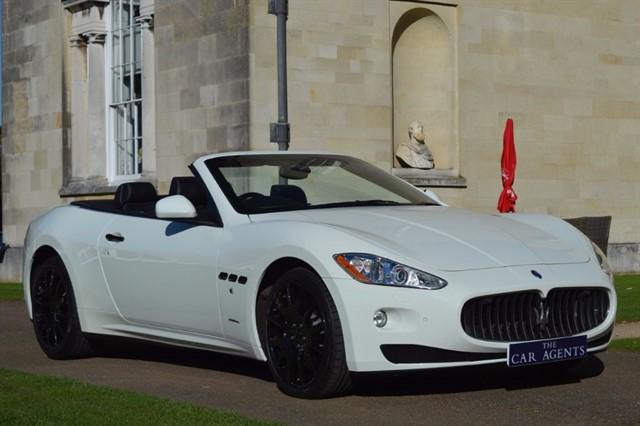 used Maserati Grancabrio 4.7 V8 GRANCABRIO in hitchin-hertfordshire