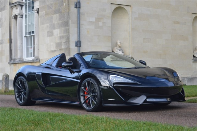 used Mclaren 570s V8 SSG Spyder - CLICK & COLLECT or FREE DELIVERY in hitchin-hertfordshire