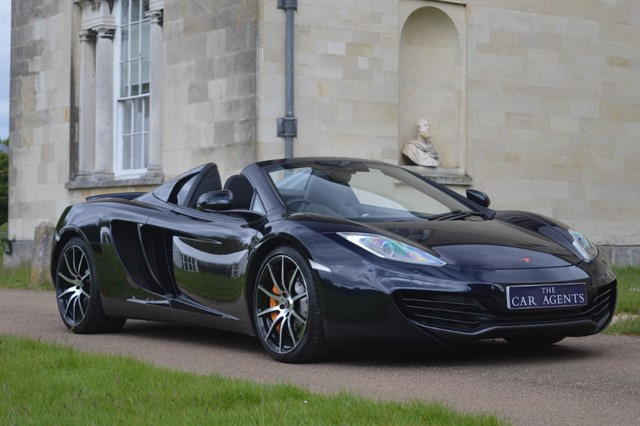 used Mclaren MP4-12C Delivered to Steve of Kent in hitchin-hertfordshire