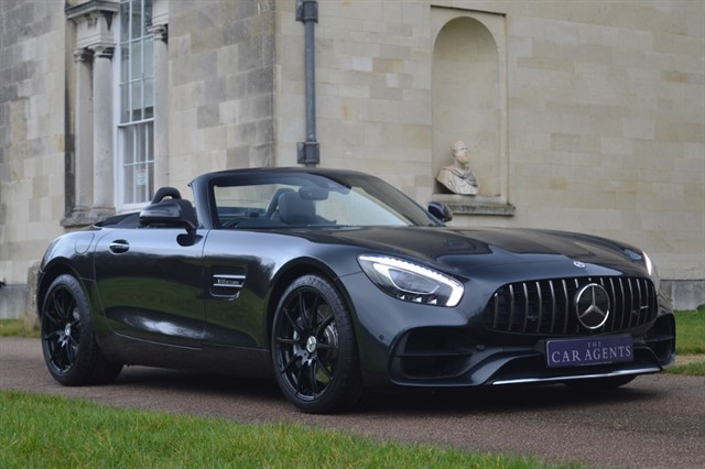 used Mercedes AMG GT 4.0 V8 PREMIUM - CLICK & COLLECT or FREE DELIVERY in hitchin-hertfordshire