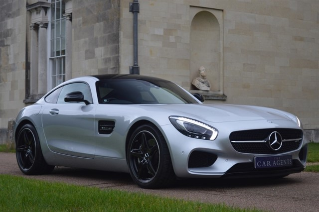 used Mercedes AMG GT 4.0 Turbo V8 PREMIUM - CLICK & COLLECT or FREE DELIVERY in hitchin-hertfordshire